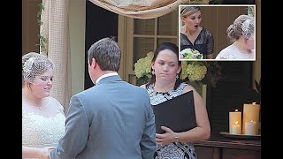 Minister (Lady) Vomits During vows #funny