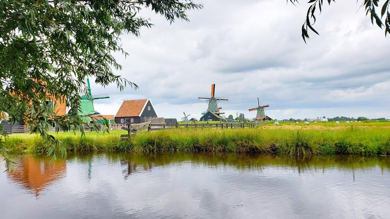 DU LỊCH CHÂU ÂU – Ngôi Làng Cối Xây Gió HÀ LAN – Đất Nước Không Có Nhà Tù- Netherlands |Ngày 10