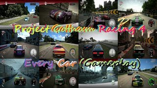 Project Gotham Racing 4 (PGR4): All cars (Gameplay)