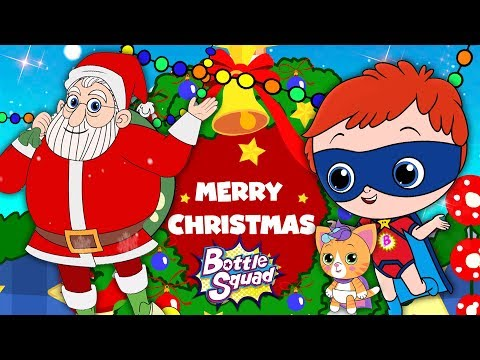 We Wish U A Merry X'mas | Bottle Squad | Nursery Rhymes | Christmas Song For Childrens by Kids Tv