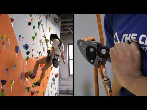How to Lower Climber in Top-Rope Belay | Rock Climbing