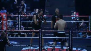 Hanwe vs Ismael ilgun boxing influencer hele westrijd winnaar