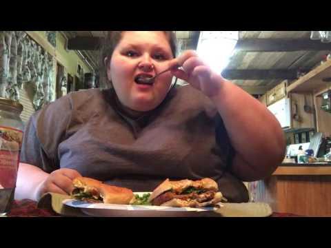 MUKBANG | EAT WITH ME | VEGGIE BURGERS