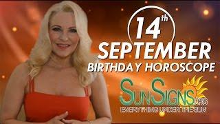 Birthday September 14th Horoscope Personality Zodiac Sign Virgo Astrology