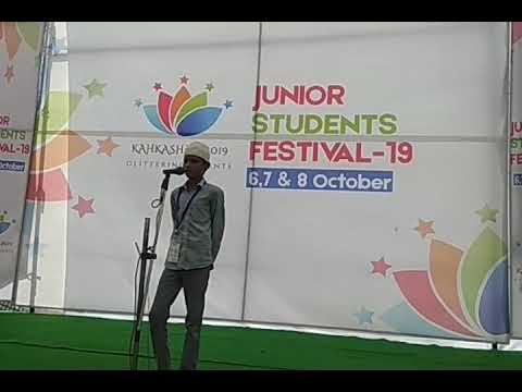 Pick And Speak Compitition | Students Performance | JSF 2019 @Bonli(2)