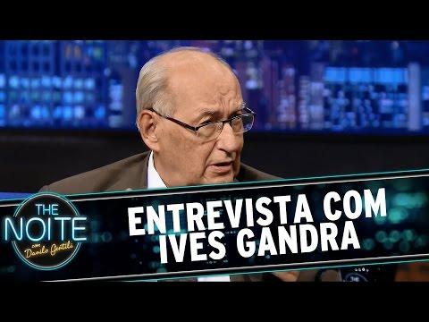 The Noite (09/03/15) - Entrevista com Ives Gandra