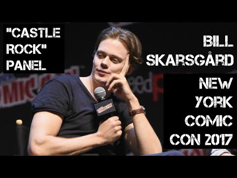 BILL SKARSGÅRD 'CASTLE ROCK' PANEL (NEW YORK COMIC CON 2017) | LadyJenevia