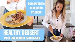 HEALTHY VALENTINES DESSERT | No sugar added