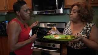 Actress Sherri Shepherd Makes Pork Chops With Aunt