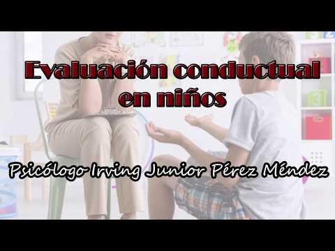 La Evaluación Conductual en niños