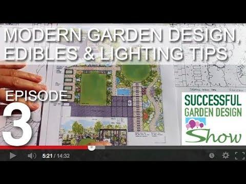 Garden Design Show 3 Edible Modern Landscape Design With