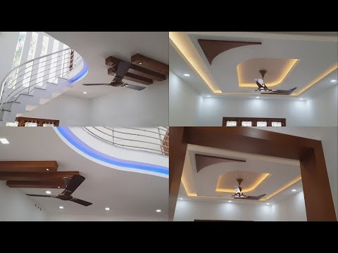 Latest Gypsum False Ceiling Design 2020 | Best Gypsum Board False Ceiling Design For Living & Dining