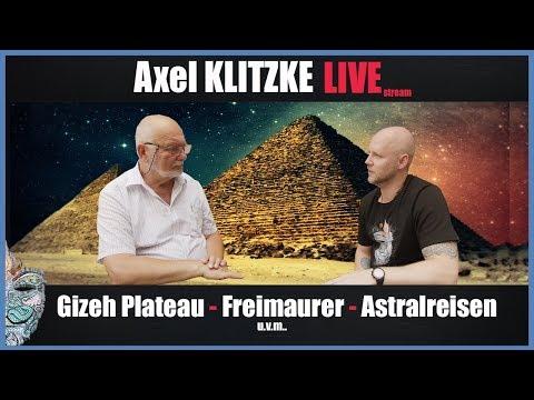Axel Klitzke Live! Neues über die Pyramiden von Gizeh inkl. Zuschauerfragen!