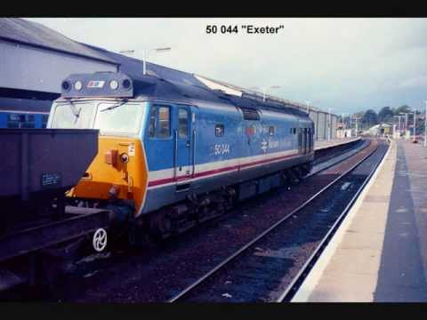 Exeter St Davids Station Photoset 1989 Youtube