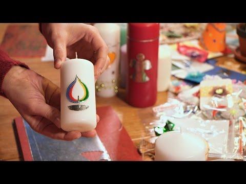 Misijní jarmark – jak se zdobí svíce | Missio interview