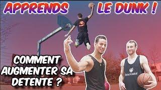 APPRENDS A DUNKER ! AVEC LE MEILLEUR DUNKEUR DE FRANCE ! (TRAVAILLER SA DÉTENTE) Video