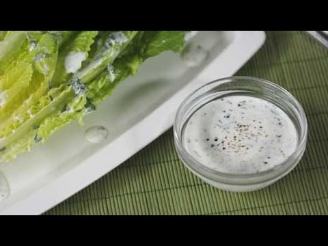Healthy Buttermilk Ranch Dressing Recipe