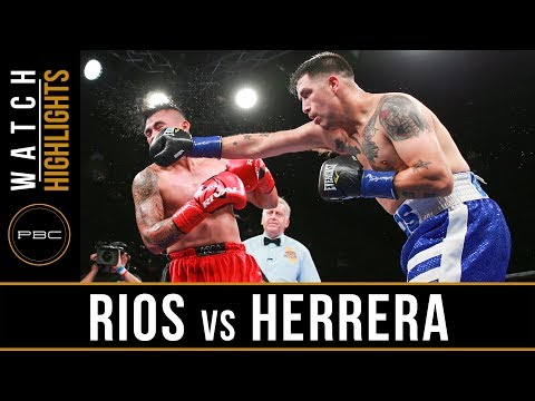 Rios vs Herrera HIGHLIGHTS: June 11, 2017 - PBC on FS1
