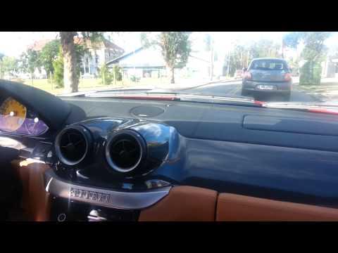 Vueltita en una Ferrari 599 GTB - Montevideo - Uruguay