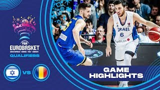 Israel v Romania - Highlights - FIBA EuroBasket 2021 - Qualifiers