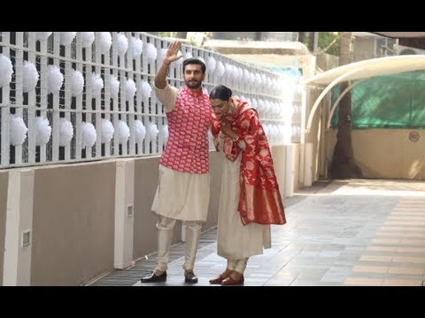 Deepika Padukone's Grand Welcome At Ranveer Singh Home Will Melt Your Heart Mp3