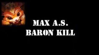 Gnar - 2.5 Max Attack Speed & Baron Solo