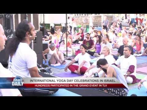 Israel Celebrates International Yoga Day