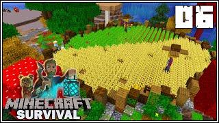 CROP FIELDS \u0026 BASTION ADVENTURE!!! - Minecraft 1.16 Survival Let's Play - Episode 6