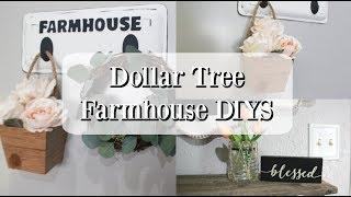 DOLLAR TREE FARMHOUSE DIYS | SUMMER DECOR 2019