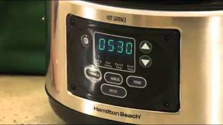 6-Quart Programmable Slow Cooker from Hamilton Beach