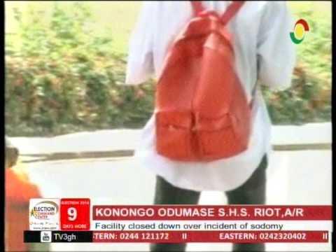 Konongo Odumase SHS closed down over incident of sodomy -27/11/2016