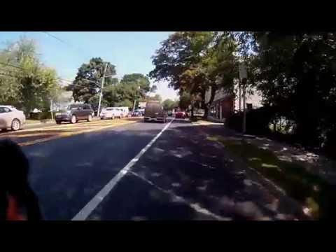 Riding through Bridgehampton and Sagaponack , Long Island