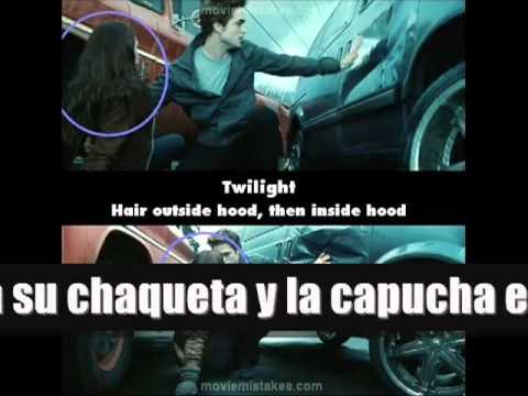10 errores en la pelicula Crepúsculo Twilight :D