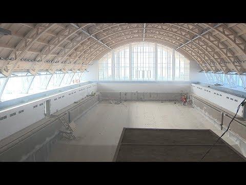Центральный бассейн Волгограда готовится к запуску