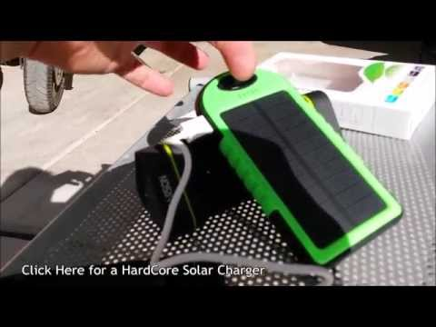 (:Review:) Solar USB Battery Bank ~5000mAh~ Weather Resistant