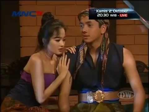 tafana dewi di film kaca benggala (1996)
