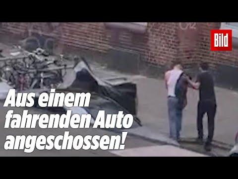 Dieser Mann wurde gerade angeschossen (heftiges Video aus Hamburg)