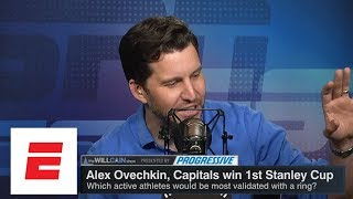 Teams and players that need a title most now that Washington Capitals won | Will Cain Show | ESPN