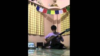 Justin Gray - Bass Veena Raga performance using La Bella Black Nylon Tapewound Strings