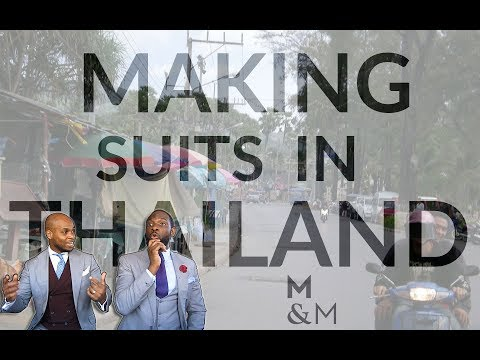 Our Story - When We Manufactured Suits In Thailand