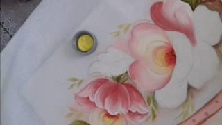 Aprenda Pintar Papoulas e Folhas