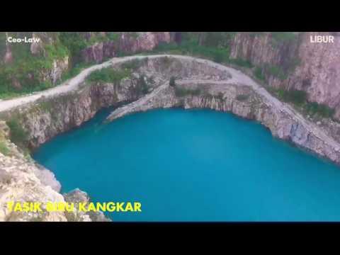 5 kompilasi video Tasik Kuari Biru di Malaysia