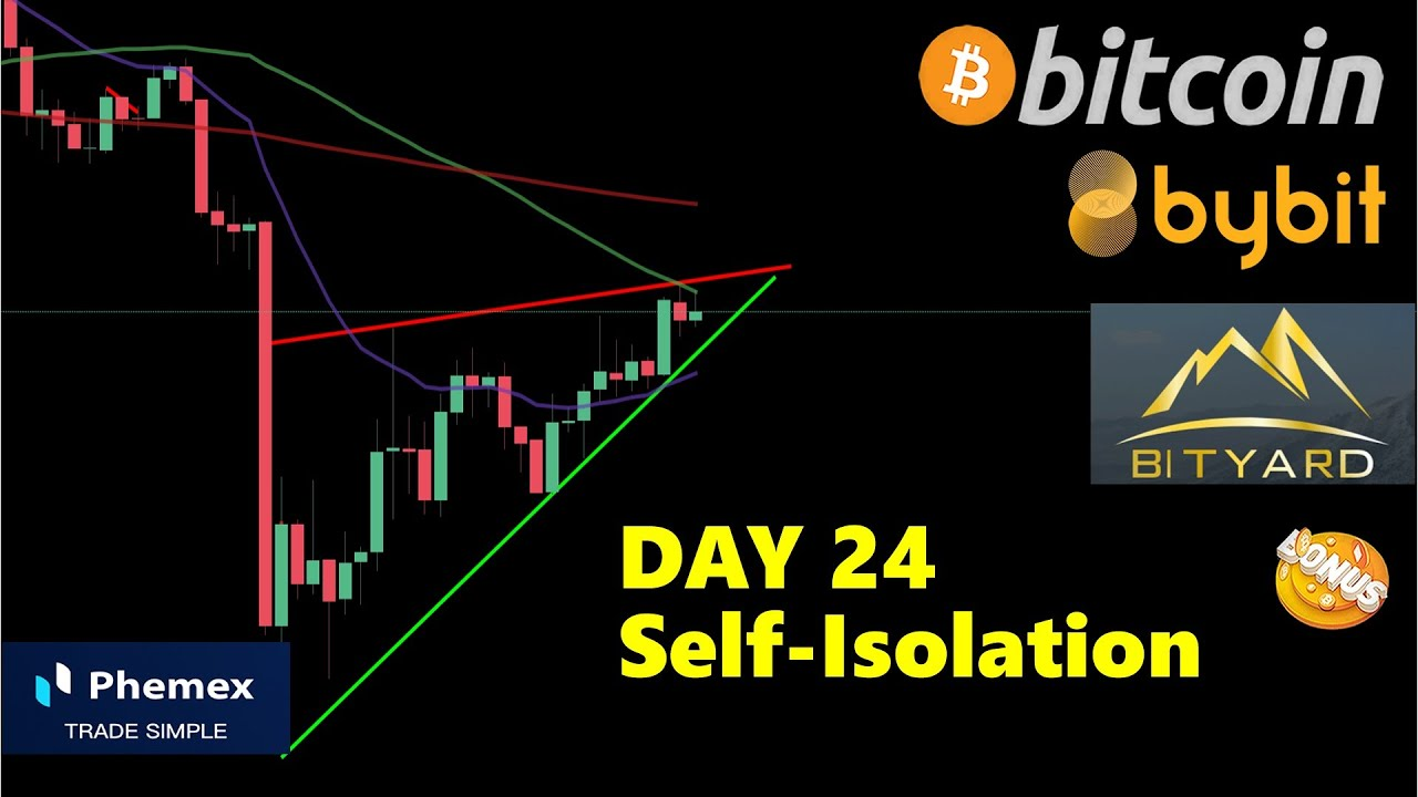 BITCOIN ₿ DAY 24 in Self-Isolation ¦ Prepare your Trades for Breakout ¦ Bitcoin TA 09.04.2020 8