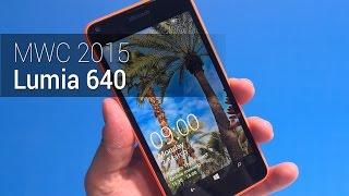MWC 2015: Lumia 640 | Tudocelular.com