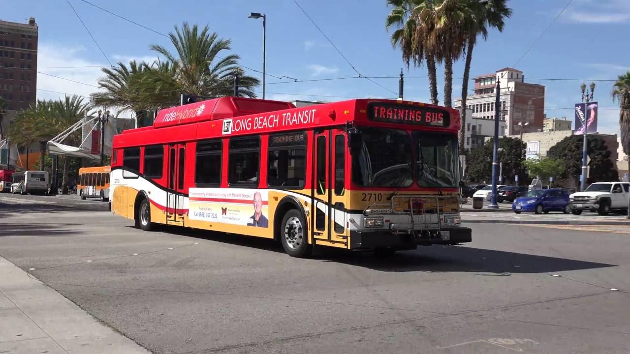 Lbt Long Beach Transit New Flyer Buses And Lacmta Light