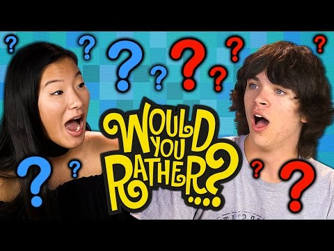 Thumbnail: WOULD YOU RATHER?! (Teens React: Gaming)