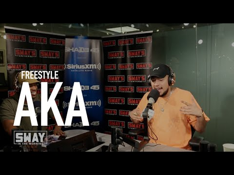 South African Artist AKA Freestyles Live