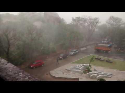 Hyderabad cyclone from ramanaidu studios