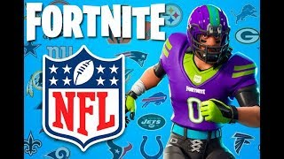 *NEW NFL SKINS* + PLAYING WITH SUBS (FORTNITE ARGENTINA PS4)
