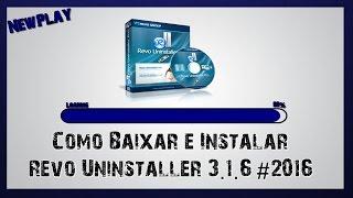 Como Baixar, instalar e ativar Revo Uninstaller PRO 3.1.6 (2017) + Serial